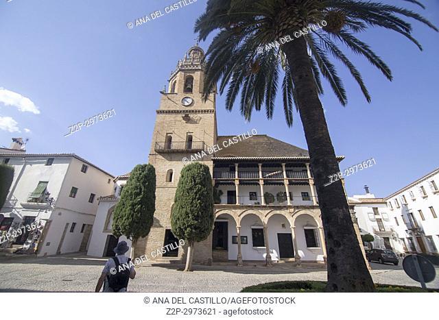 Church of Santa Maria la Mayor in Ronda, Andalucia, Spain