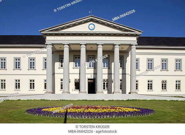 Peter-Friedrich-Ludwigs-Hospital, Kulturzentrum PF, town library, music school, music and literature house, Oldenburg, Lower Saxony, Germany, Europe