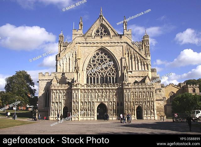 Exeter Cathedral Devon England