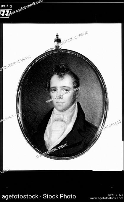 John Cox. Artist: Henry Williams (American, Boston, Massachusetts 1787-1830 Boston, Massachusetts); Date: ca. 1810; Medium: Watercolor on ivory; Dimensions: 2...