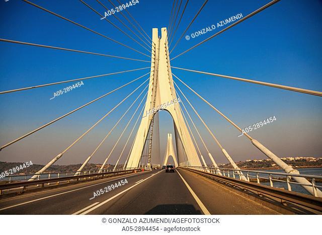 Portimao bridge. Portimao, Faro district. Algarve, Portugal