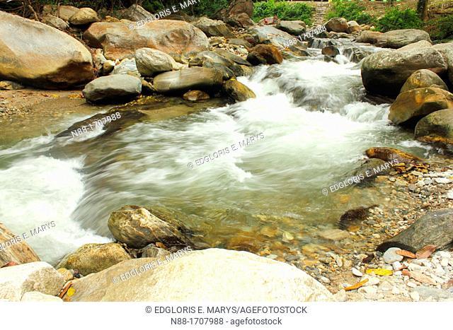 El Limon River rapids, Henri Pittier Natioanl Park, Venezuela