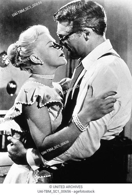 Monkey Business, aka: Liebling ich werde jünger; USA 1952, Regie: Howard Hawks, Darsteller: Cary Grant, Ginger Rogers