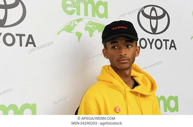 The Environmental Media Association Awards 2018 Featuring: Jaden Smith Where: Las Vegas, Nevada, United States When: 22 May 2018 Credit: Apega/WENN