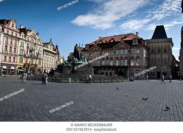 Jan-Hus-Denkmal in Prag