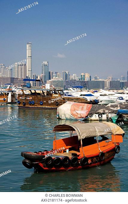 Asia, China, Hong Kong, Causeway Bay Waterfront