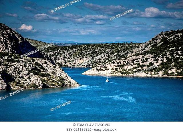 River Krka Estuary