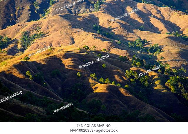 Red lands of Kalinga province, The Cordillera, North Luzon, Philippines