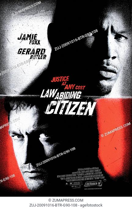 RELEASE DATE: October 16, 2009. MOVIE TITLE: Law Abiding Citizen. STUDIO: Warp Film. PLOT: A brilliant man orchestrates a series of high-profile murders that...