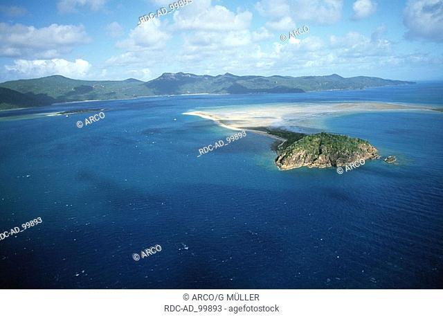 Whitsunday Islands Coral Sea Australia Inselgruppe Whitsunday Islands Coral Sea Australien Cumberland Islands Cumberland-Inseln