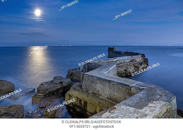 St. Monan's Pier, Fife, Scotland, United Kingdom, Europe
