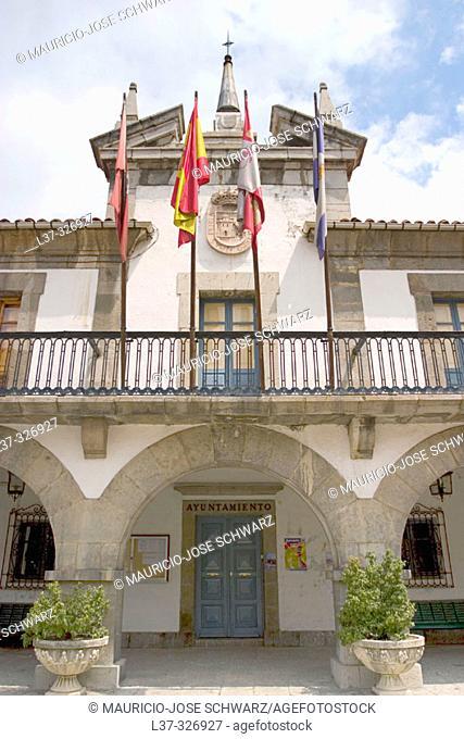 Town Hall. Pola de Gordón. León provincia, Spain