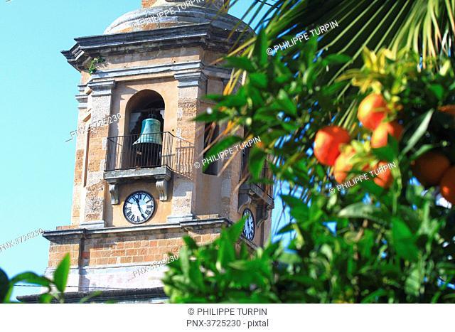 Spain, Andalousia. Algeciras. Plaza Alta. Iglesia Nuestra Señora de la Palma