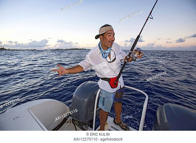 Sports fishing; Tahiti