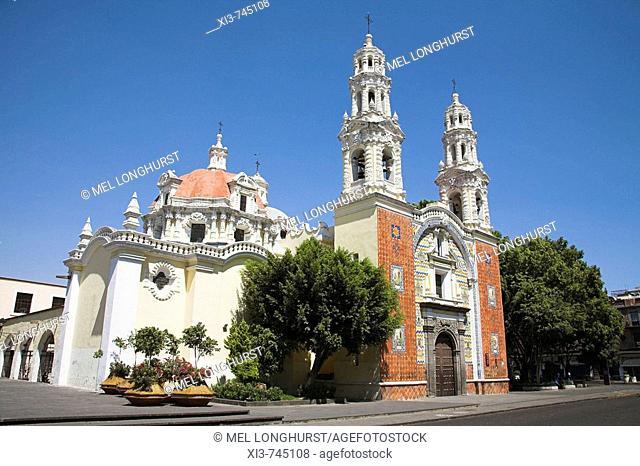 Santuario de Nuestra Senora de Guadalupe, Church of Our Lady of Guadalupe, Avenida Reforma, Puebla, Mexico