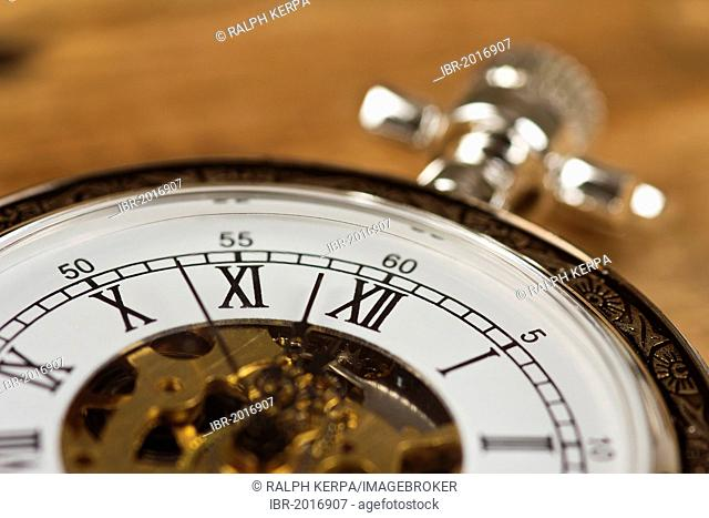 Face of a pocket watch