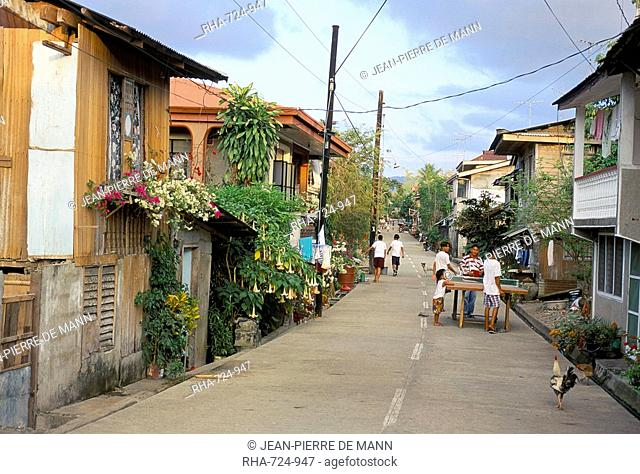 Town of Boac, island of Marinduque, south of Luzon, Philippines, Southeast Asia, Asia