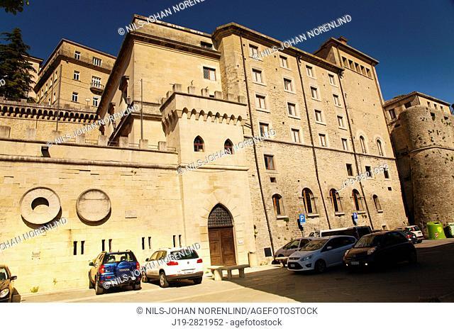 Republica di San Marino, Piazzale Straddne (Italy)