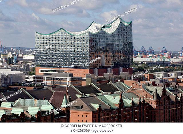 Elbe Philharmonic Hall and Speicherstadt, Hamburg, Germany