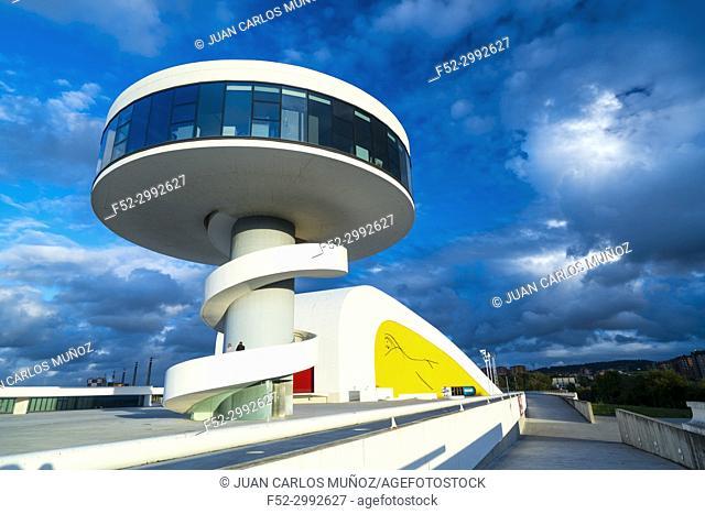 Centro Niemeyer, Aviles, Asturias, Spain, Europe