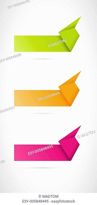 origami button