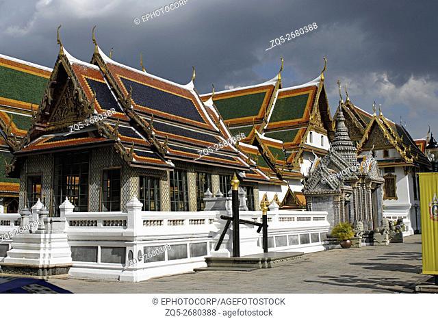 Thailand, Bangkok 14th century. A. D. Grand Palace complex