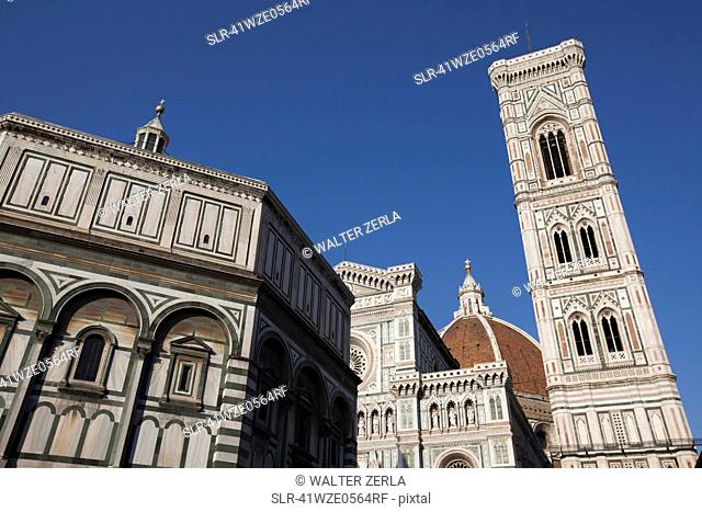 Low angle view of Duomo cathedral