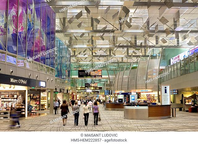 Singapore, Changi Airport Terminal 3, duty free zone