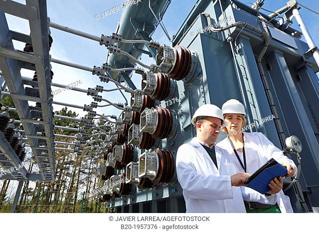 Electrical Substation. Ingrid. Testing and Certificates Services for Smart grids. Certification of electrical equipment. Technological Services to Industry