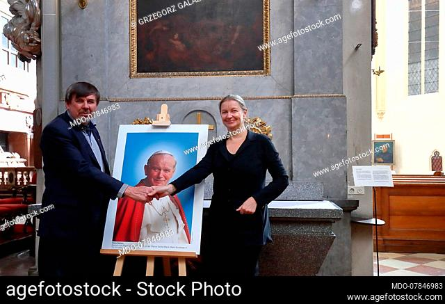 Photo exhibition John Paul II - Apostle of Peace. On display are the shots taken by photographer Grzegorz Galazka during the pontificate of Karol Wojtyla