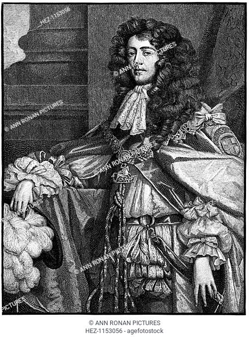 James, Duke of Monmouth (1649-1685), Pretender to throne of Scotland and England. Monmouth, the illegitimate son of Charles II and Lucy Walter launched a...
