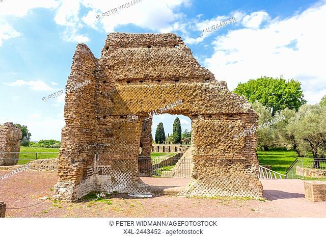 Villa Adriana, Tivoli, Latium, Italy, UNESCO World Heritage Site