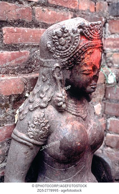 Pashupatinath temple. Devi. Dated: 600 A. D. Nepal