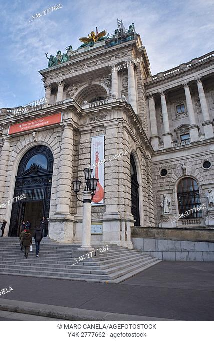 architecture, austria, austrian, bibliotheque