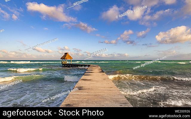 Ocean Jetty, Riviera Maya, Mexico