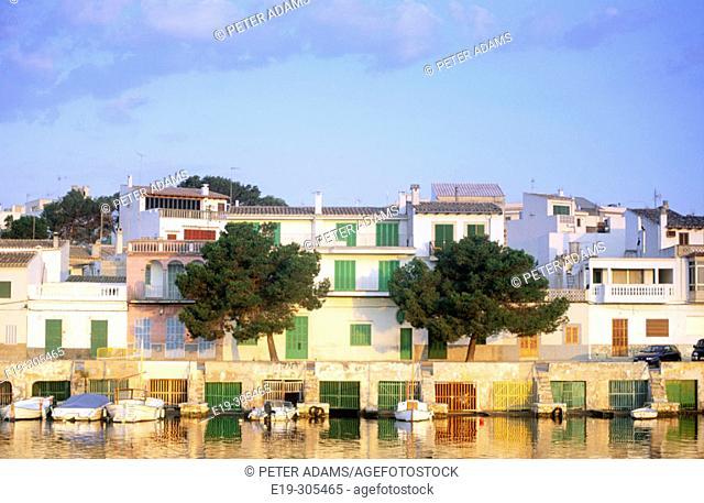 Porto Colom in Mallorca. Balearic Islands, Spain