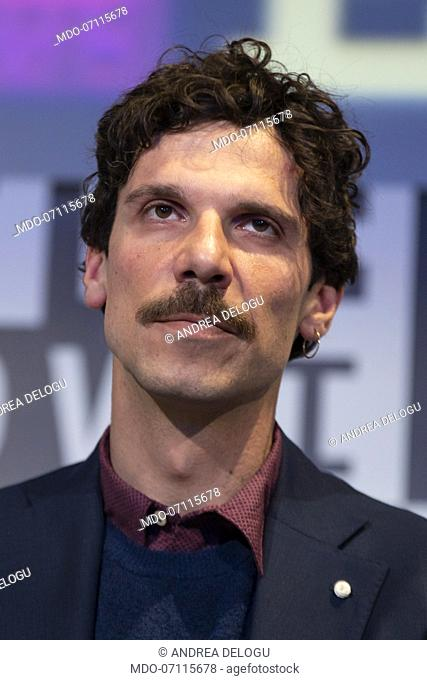 Italian actor Francesco Montanari during the Wired Next Fest. Milan (Italy), May 26th, 2019