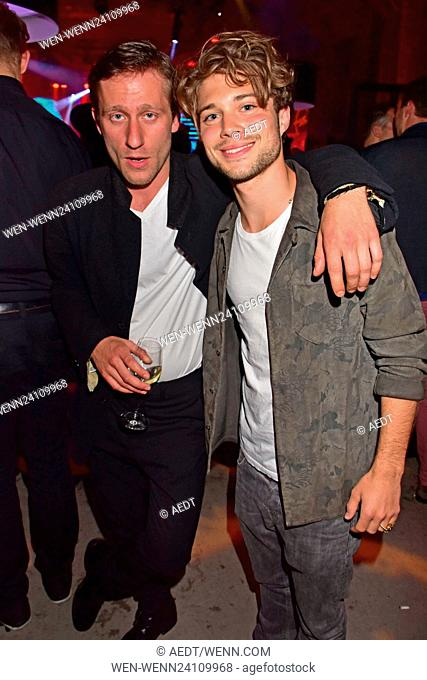 Celebrities at Bunte New Faces Award Film aftershow-party at E-Werk. Featuring: Merlin Leonhardt, Jascha Rust Where: Berlin