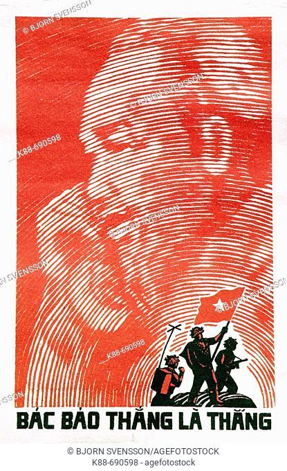 Propaganda poster, Vietnam