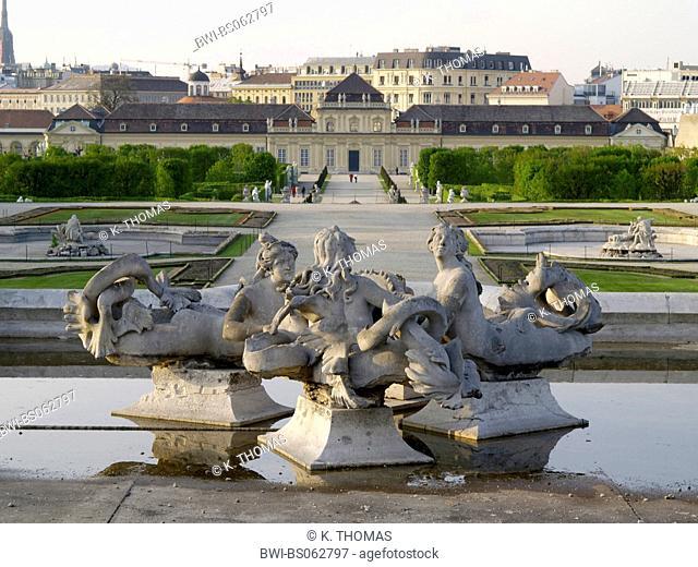 Vienna, Lower Belvedere castle, Austria, Vienna, 3. district, Vienna - Belvedere