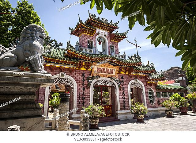Phuoc Kien Assembly Hall in Hoi An ancient town (Quang Nam province, Vietnam)