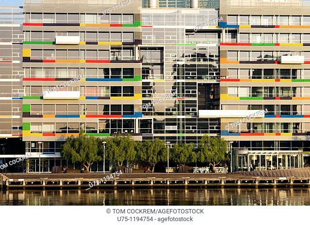 Docklands scene, Melbourne, Australia