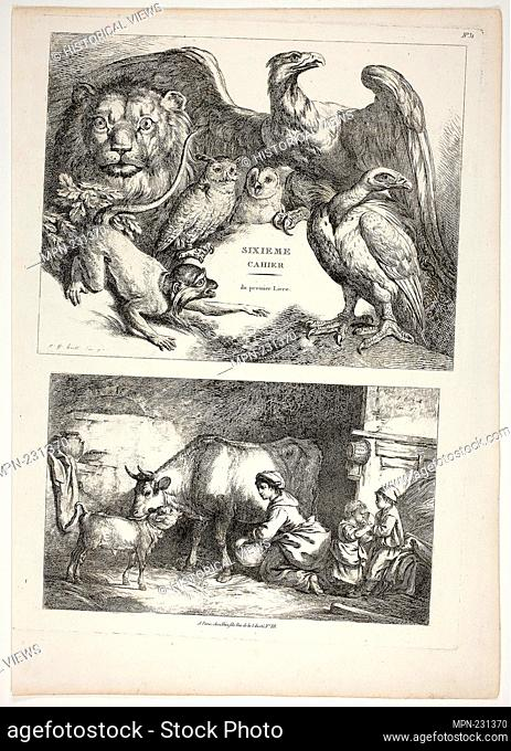 Study Of A Hen And Chick Easy To Use artist Circle Of Jean Baptiste HuËt