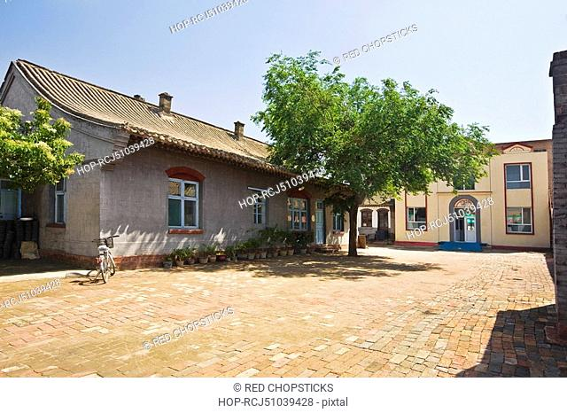 Houses in a town, HohHot, Inner Mongolia, China