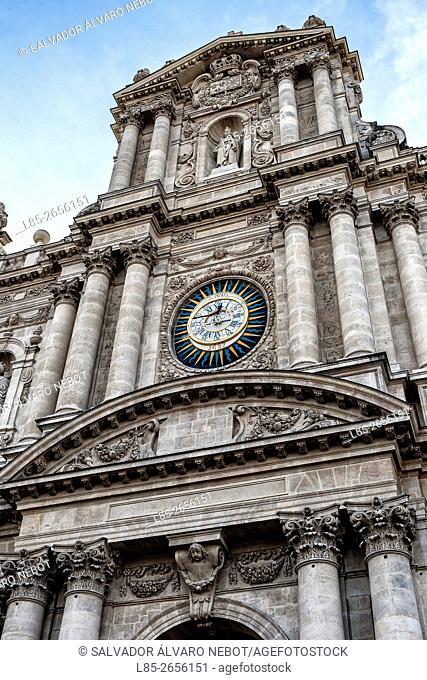 Iglesia de Saint Paul-Saint Louis. París. Francia