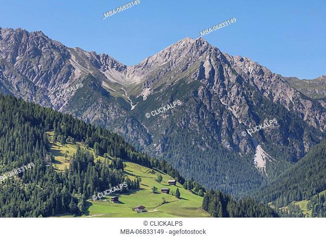 Weittal spitze, Lienzer Dolomites, Lesachtal, Austria