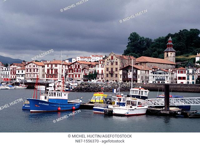 France, Basque Country, Saint Jean de Luz port