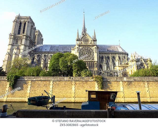The Cathedral of Notre-Dame - Paris, France