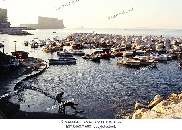 Landscape via caracciolo,Napoli