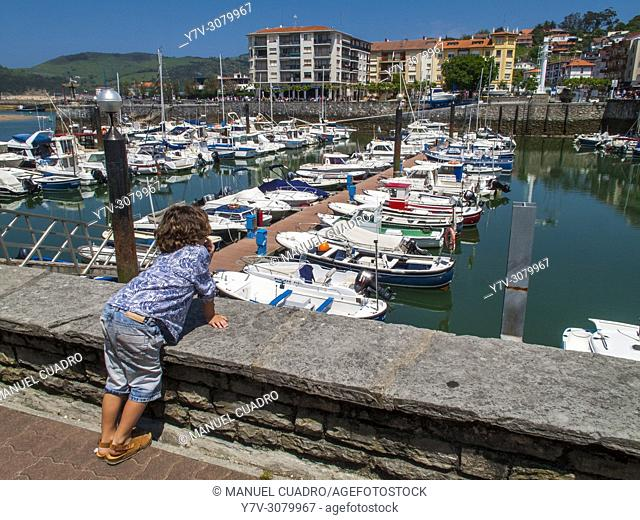 Port, Plencia, Biscay, Basque Country, Spain